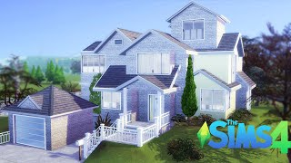 The Sims 4 Speed Build | COZY HOUSE 🏡 | CC Links Mods