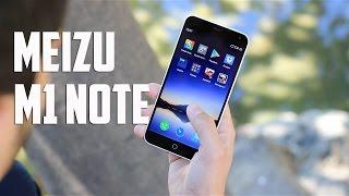 Meizu M1 Note, Review en español