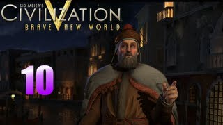Civilization 5 Brave New World Multiplayer as Venice - Episode 10 : Satellite Cities...