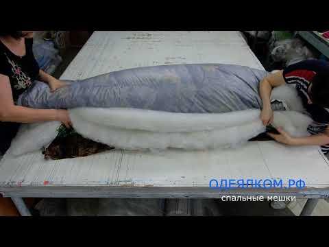 Как сшить спальный мешок для туриста своими руками выкройка