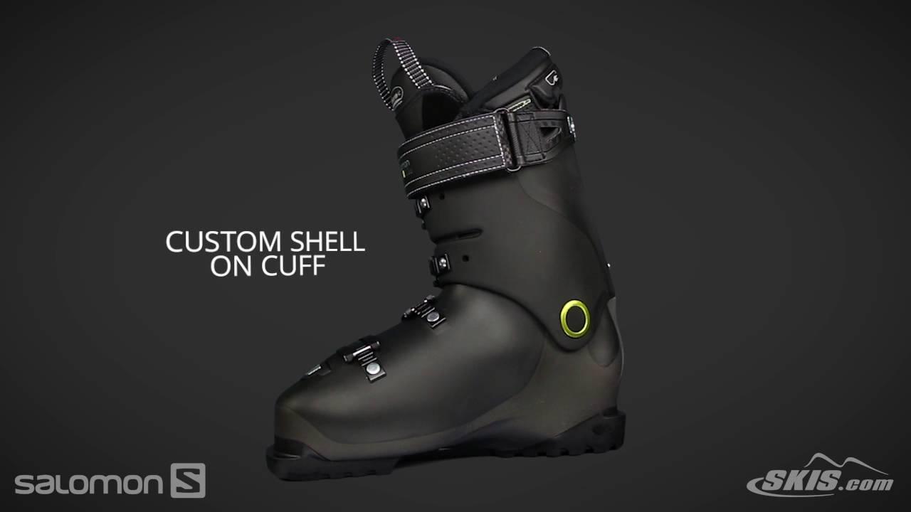 2018 Salomon X Pro Custom Heat Mens Boot Overview by SkisDotCom ... 4eafcd38917