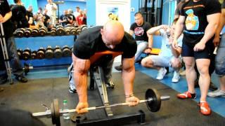 Robert Burneika w Polsce - ćwiczenie na biceps 2017 Video