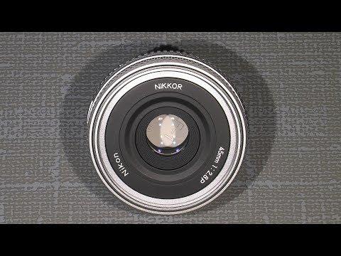 Sticky aperture blades in Nikon Nikkor 45mm 1:2.8 P