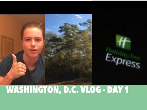Washington, D.C. Vlog - Day 1 (Morning Routine, Travel, Hotel)