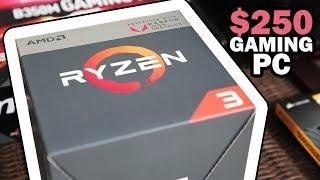 $250 Budget Gaming PC - 2200g
