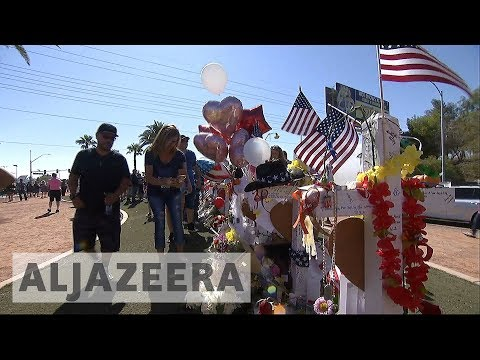 Las Vegas memorial: Mourners pay tribute to 58 shooting victims