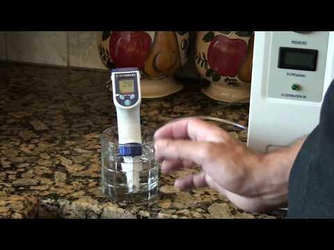 H2 breathing machine making hydrogen water