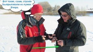 Тестирование пруда для спортивной рыбалки в Воронежской области