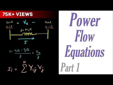 Power Flow Equations Part 1