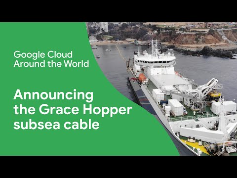 Announcing the Grace Hopper subsea cable