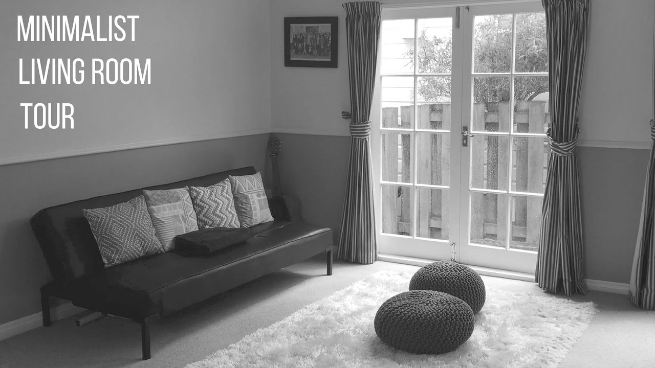 Minimalist Living Room Tour Second Hand Furniture Youtube