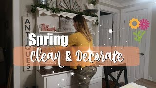 CLEAN AND DECORATE WITH ME FOR SPRING 2019