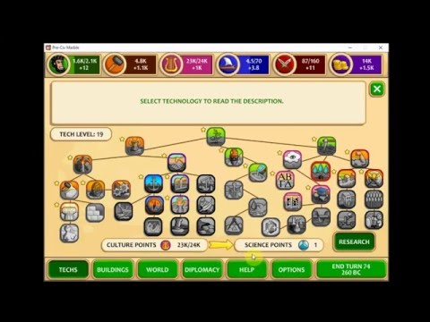 Pre Civilization Marble Age Set 1 Part 2 First Look Let's Play