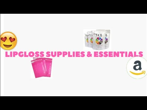 Ep.2 | Where I Get All My Lipgloss Products From ...| Life Of An Entrepreneur