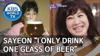 "Sayeon ""I only drink one glass of beer"" [Happy Together/2019.07.11]"