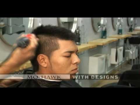 Corte cabello hombre video