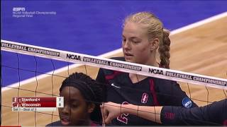 Stanford v Wisconsin, 12/10/2016 Women