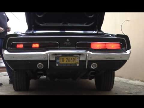 69 Charger R T Led Tail Lights Vs Stock Youtube