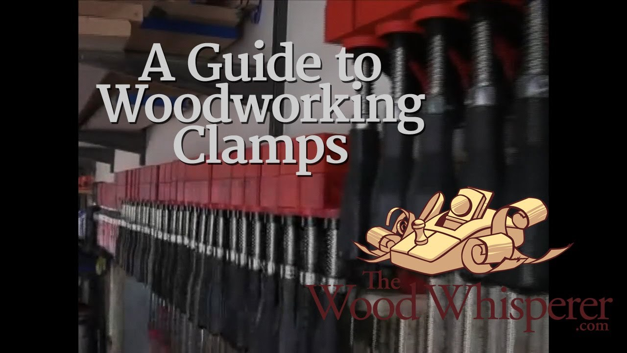 Guide To Woodworking Clamps