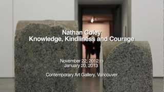 Nathan Coley: Knowledge, Kindliness and Courage Thumbnail