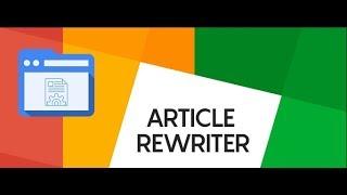 Best Article Rewriter - SeoWebsiteTool.com