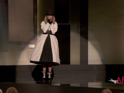 Standing ovation for Diane Keaton