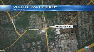 Police seeking suspect following robbery at Hampton restaurant