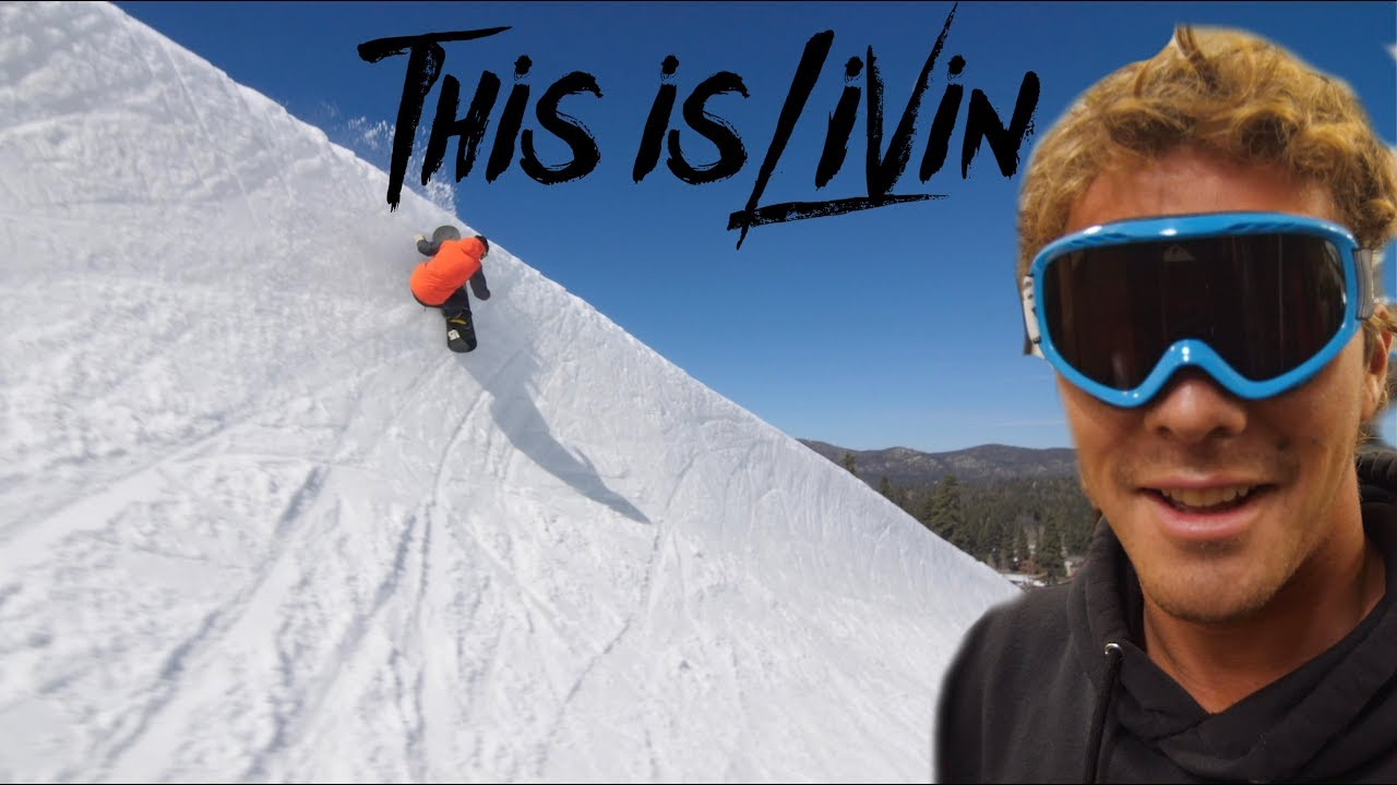 Snowboarding in California! || This is Livin'