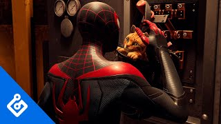Exclusive Look at Miles' New Feline Friend in Marvel's Spider-Man: Miles Morales (4K)