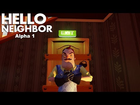 Hello, Neighbor Alpha 1 Walkthrough/Longplay (No Commentary) thumbnail