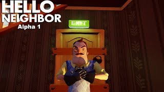 Hello, Neighbor Alpha 1 Walkthrough/Longplay (No Commentary)