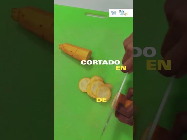 Aprende diferente formas de cortar tus vegetales