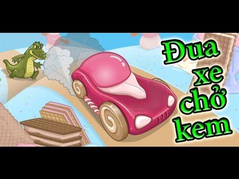 Game đua xe chở kem - Ice cream racing - Game Vui