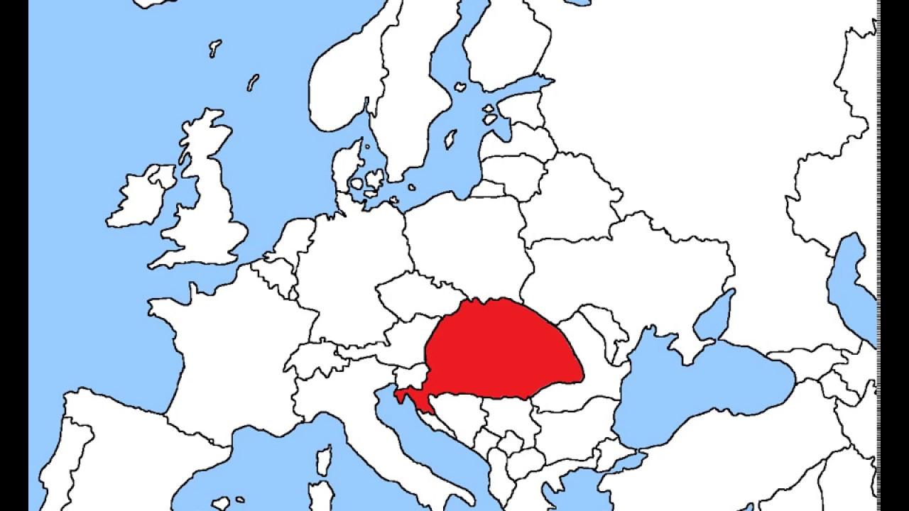 térkép nagy magyarország Nagy Magyarország   YouTube térkép nagy magyarország