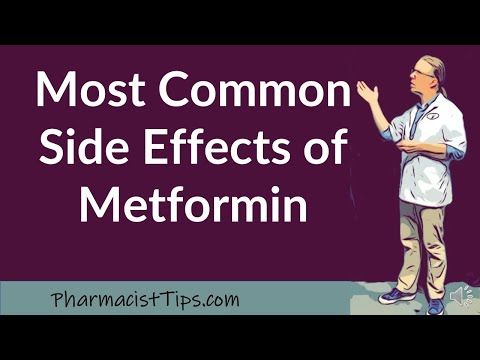 Most Common Side Effects of Metformin
