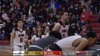 Yuba vs Fresno City College Men's Basketball Regional Final 3/9/19