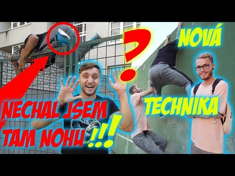 Učím youtubery parkour #37 | Denis