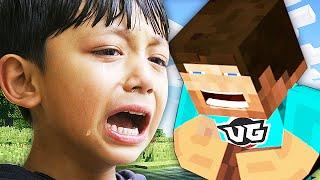 Griefing A Kid Admin On Minecraft Minecraft Trolling