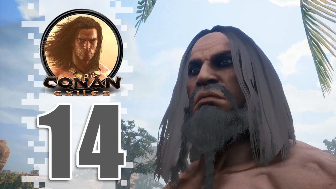 WE'RE BACK AND WE BROUGHT PROGRESS!!! - EP14 - CONAN EXILES (Removing The  Bracelet)