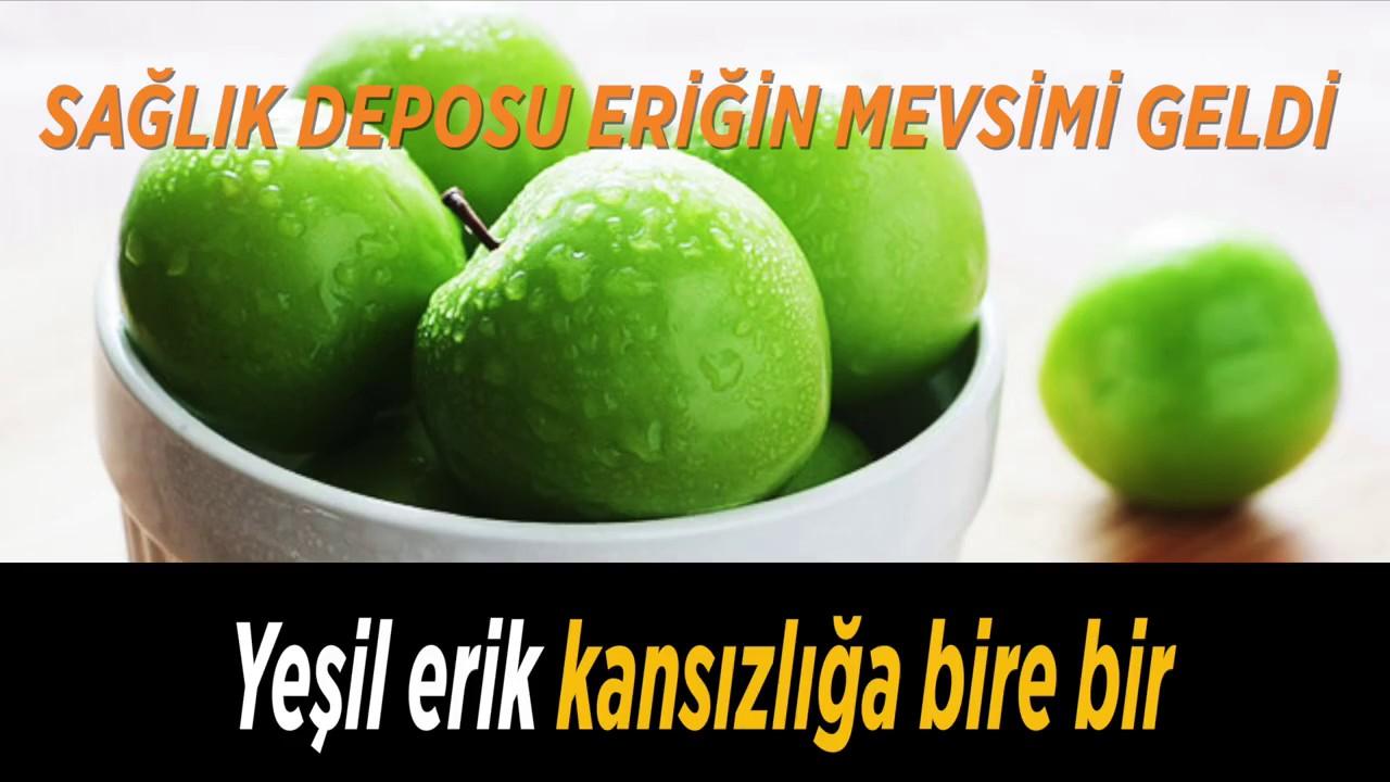 Yeşil Erik Reçeli
