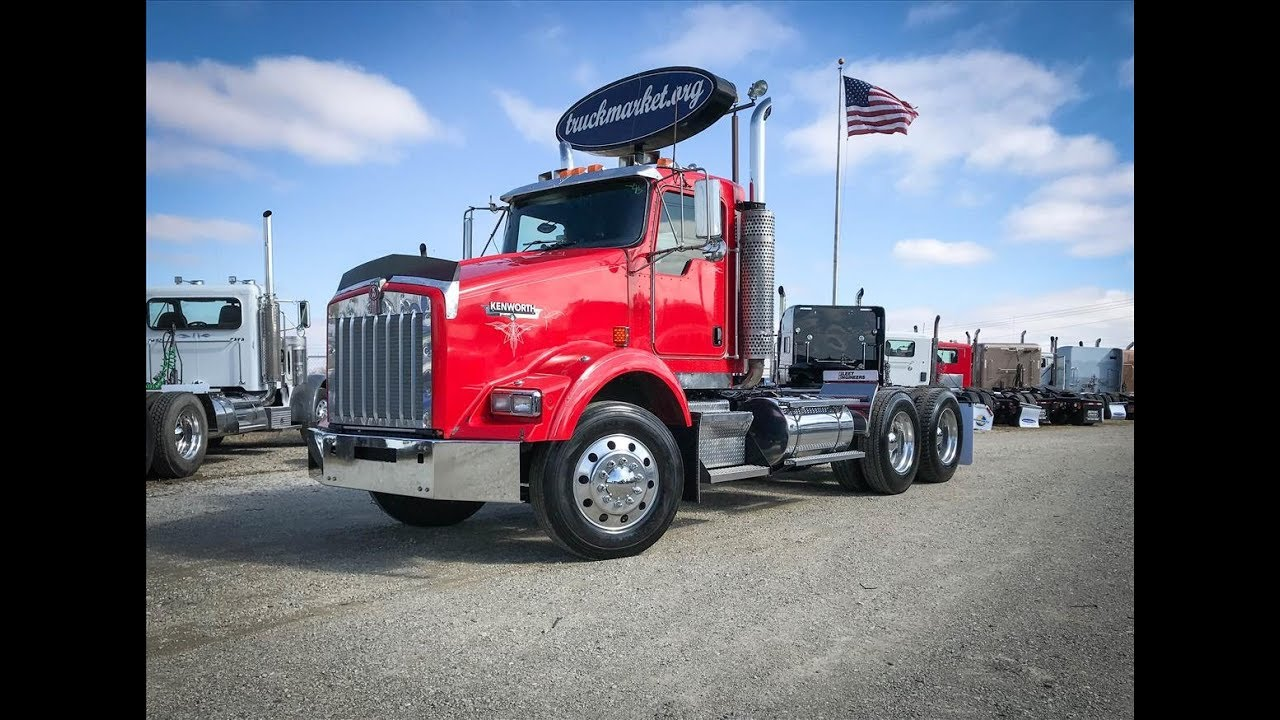 2003 kenworth t800 tandem axle daycab for sale [ 1280 x 720 Pixel ]