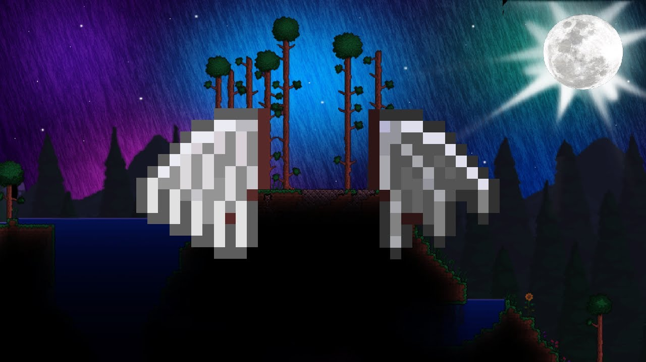 how to make angel/demon wings in terraria