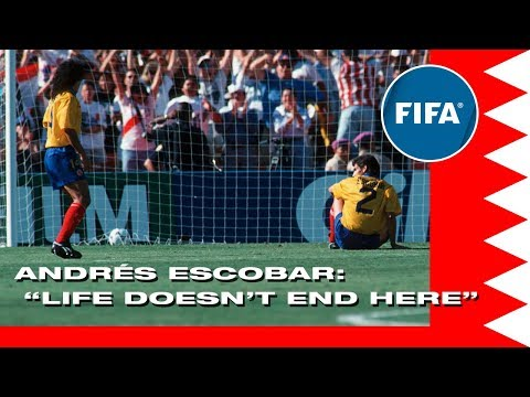 Andrés  Escobar,  'Life  Doesn't  End  Here'