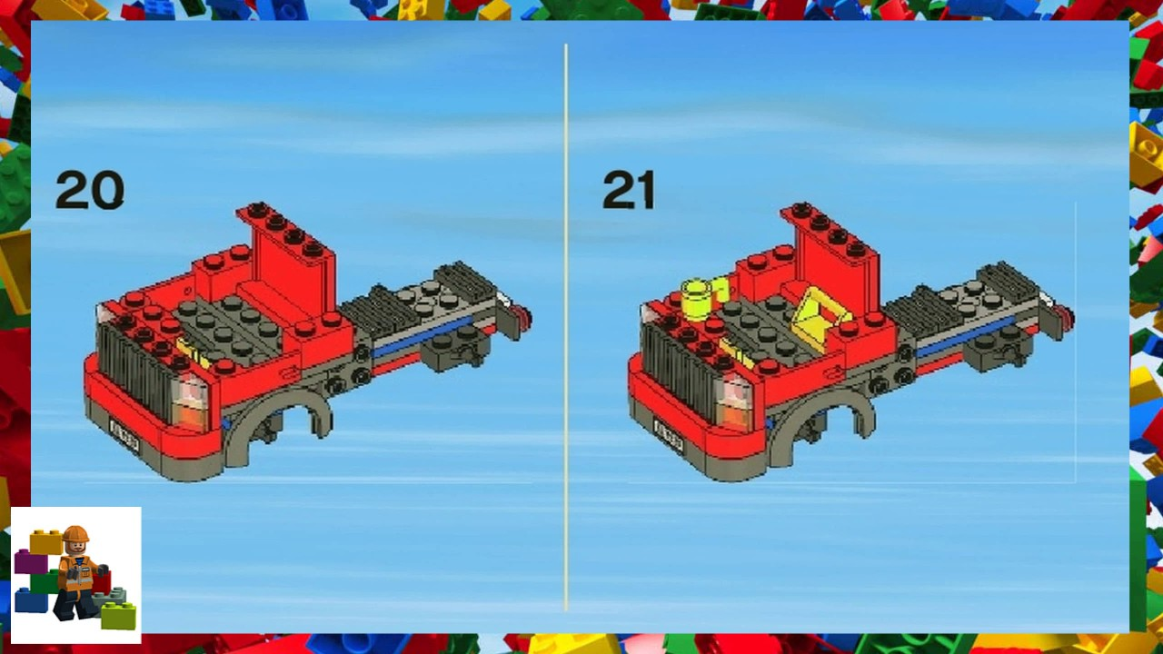 lego cargo train 7939 instructions