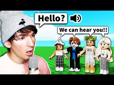 This Roblox Game ACTUALLY Added VOICE CHAT
