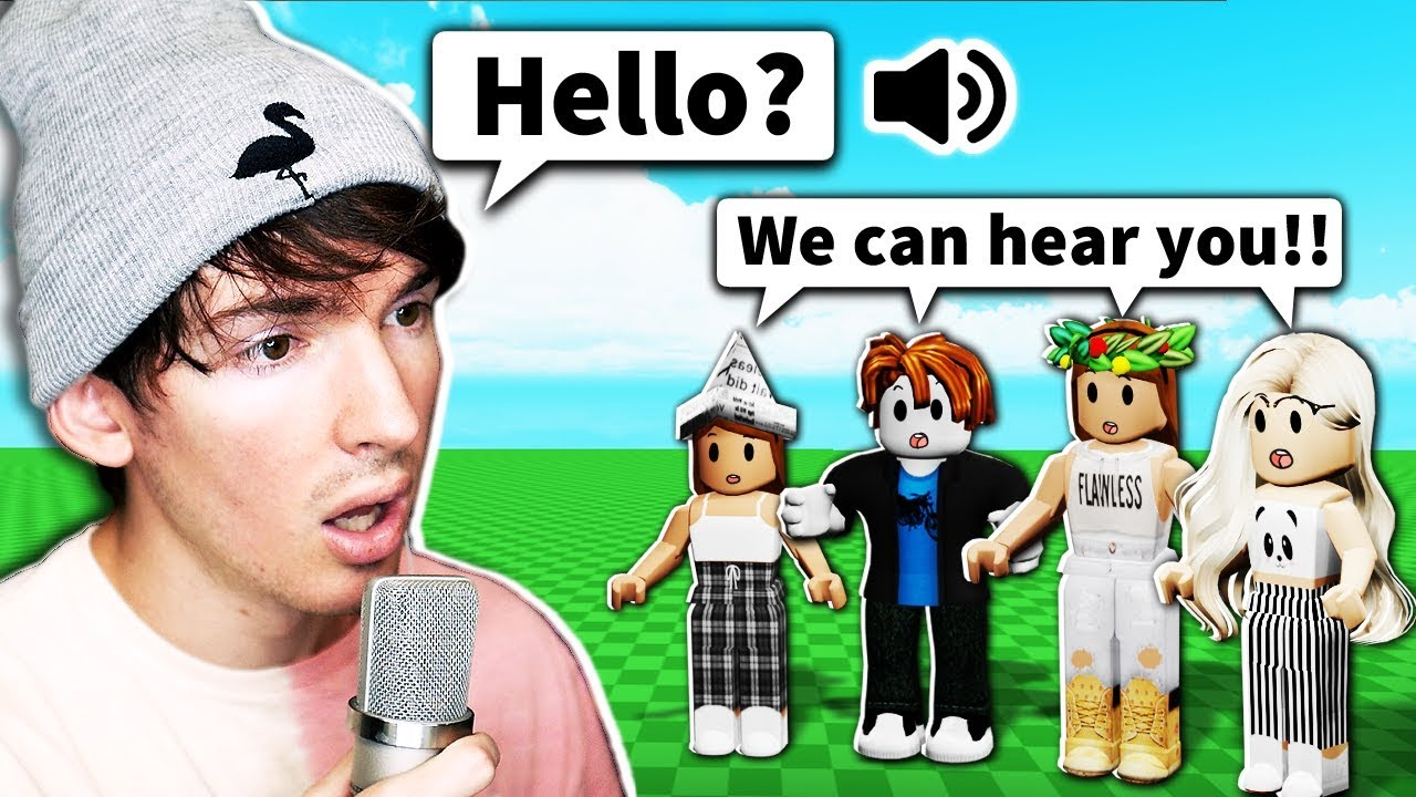 This Roblox Game Actually Added Voice Chat Youtube