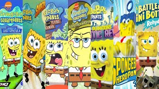 The Evolution Of SpongeBob Games (2000-2020)
