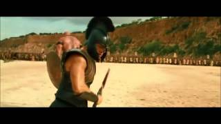 Troy - Achilles first battle