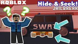 ULTIMATE JAILBREAK HIDE AND SEEK #2!!! Roblox Jailbreak Hide and Seek-Cops and Robber Myusernamethis
