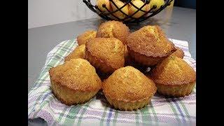 Рецепт Апельсиновые кексы - видео-рецепт вкуснейших апельсиновых маффинов (капкейков)